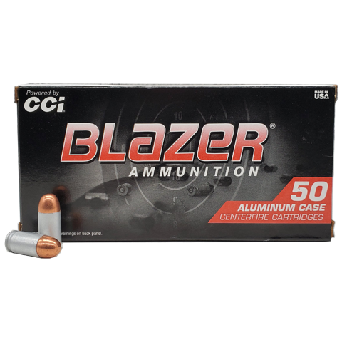 BLAZER-380-ACP AMMO 500 RD
