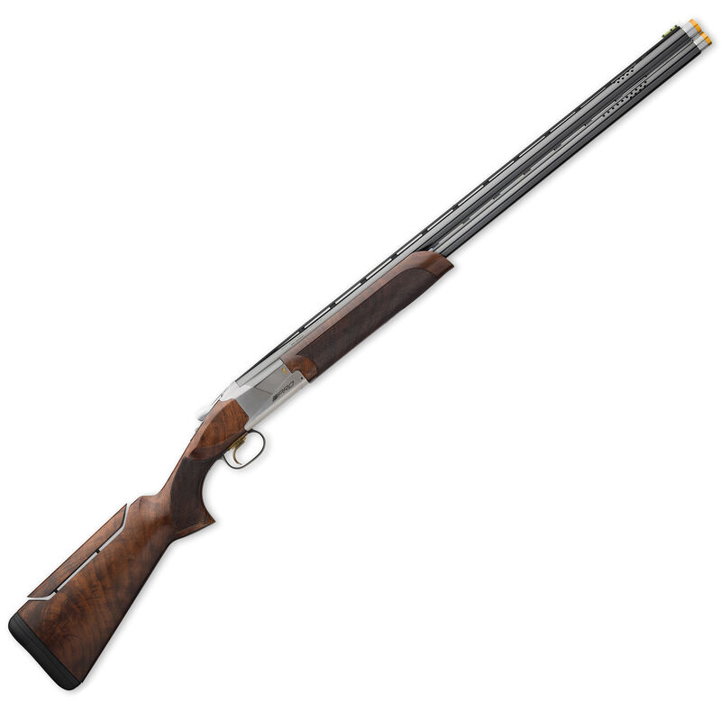 """Browning Citori 725 Pro Sporting Over/Under Shotgun 20 Gauge 32"""" Ported Barrels 2.75"""" Chambers 2 Rounds Pro Balance Grade III/IV Walnut Stock Adjustable Comb Silver Receiver Blued 0180027009"""