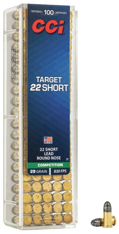 CCi SHORT TARGET 22 SHORT 500 Rds