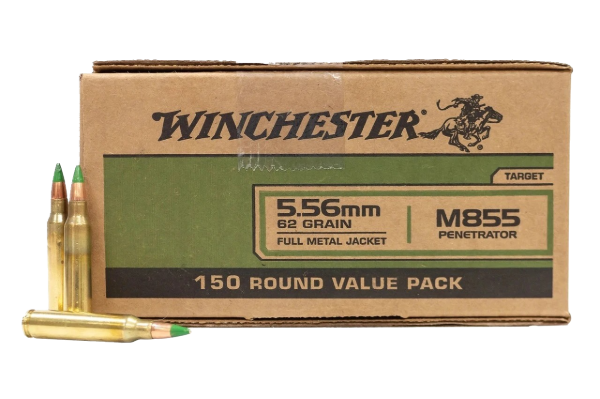 WINCHESTER 5.56X45MM M855 500 Rds
