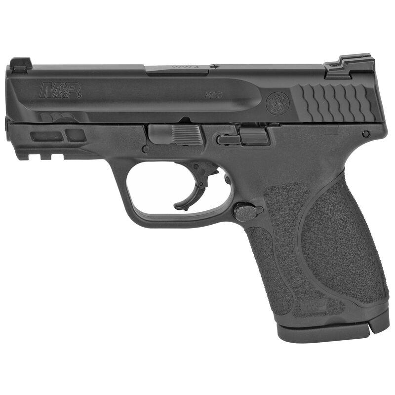 """S&W M&P9 M2.0 Compact 9mm Luger Semi Auto Pistol 3.6"""" Barrel 15 Rounds No Manual Safety Armornite Finish Matte Black"""