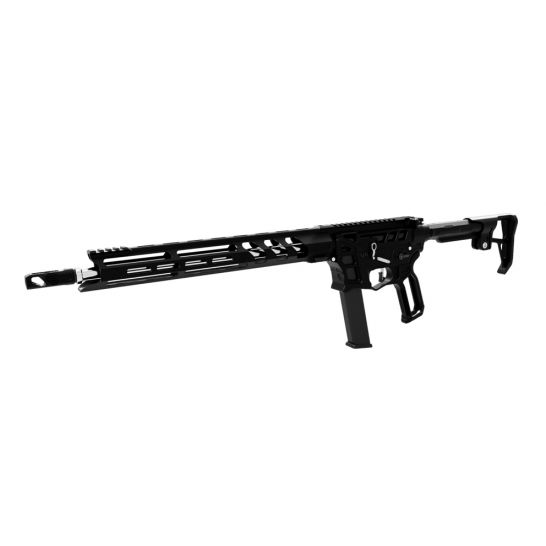 """LEAD STAR ARMS PRIME PCC 16"""" STAINLESS STEEL 9MM GLOCK COMPATIBLE AR-9 RIFLE, BLACK"""