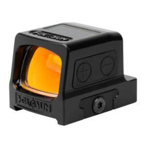 HOLOSUN HE509T-RD SOLAR RED DOT SIGHT WITH SHAKE AWAKE, BLACK - HE509T-RD