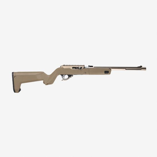 MAGPUL INDUSTRIES MAG808/X-22 BACKPACKER REINFORCED POLYMER STOCK, FLAT DARK EARTH - MAG808-FDE