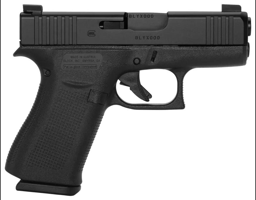 GLOCK G43X Subcompact Semi-Auto Pistol