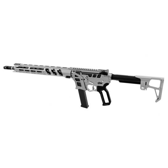 "LEAD STAR ARMS PRIME 16"" CARBON FIBER WRAPPED PCC 9MM AR-9 RIFLE, GUNMETAL"