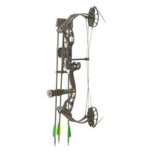 PSE Mini Burner Ready-to-Shoot Youth Compound Bow Package, Right Hand